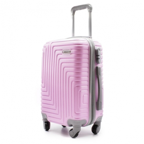 Maleta trolley color Pink