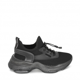 Deportivas plataforma all black